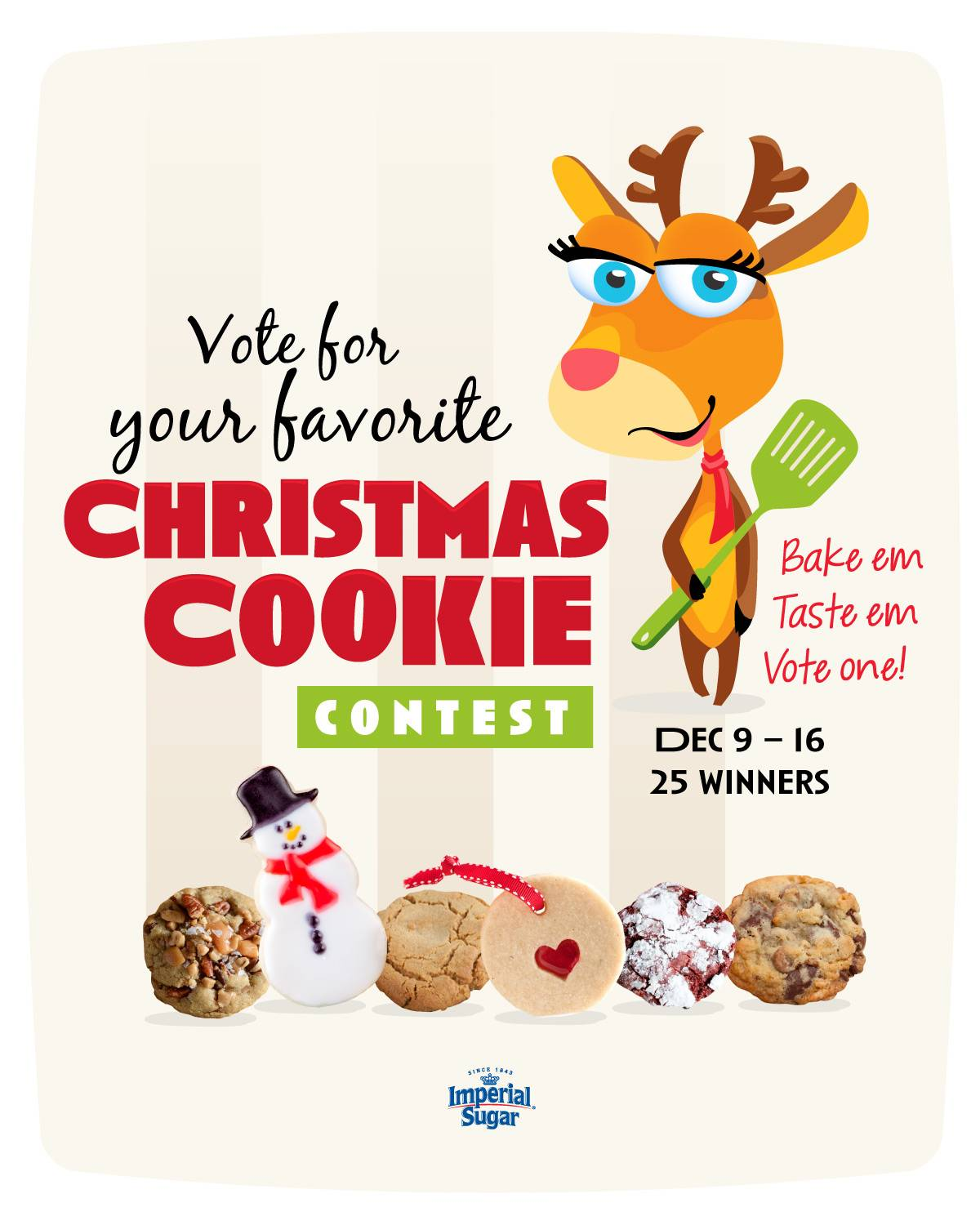 Christmas Cookie Contest Imperial Sugar