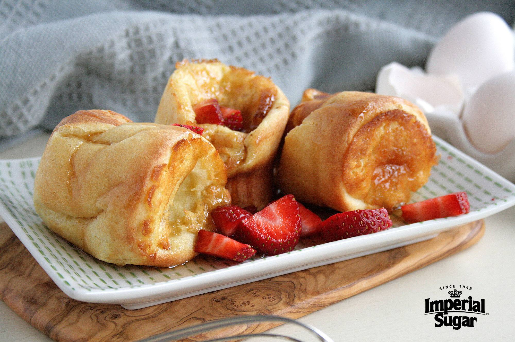 Easy breakfast popovers