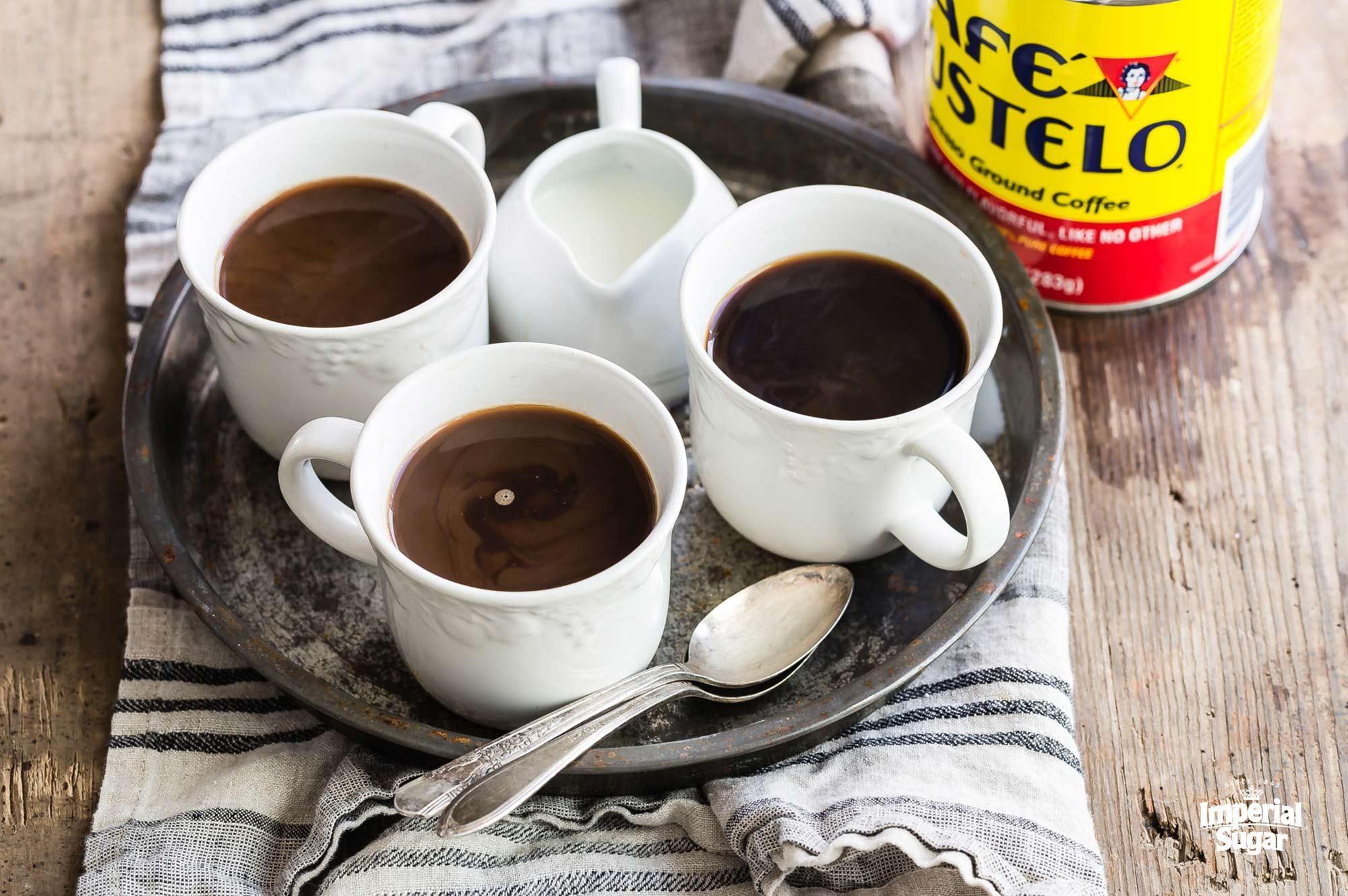 cuban coffee recipe - how to make cafe cubano | MokaBees