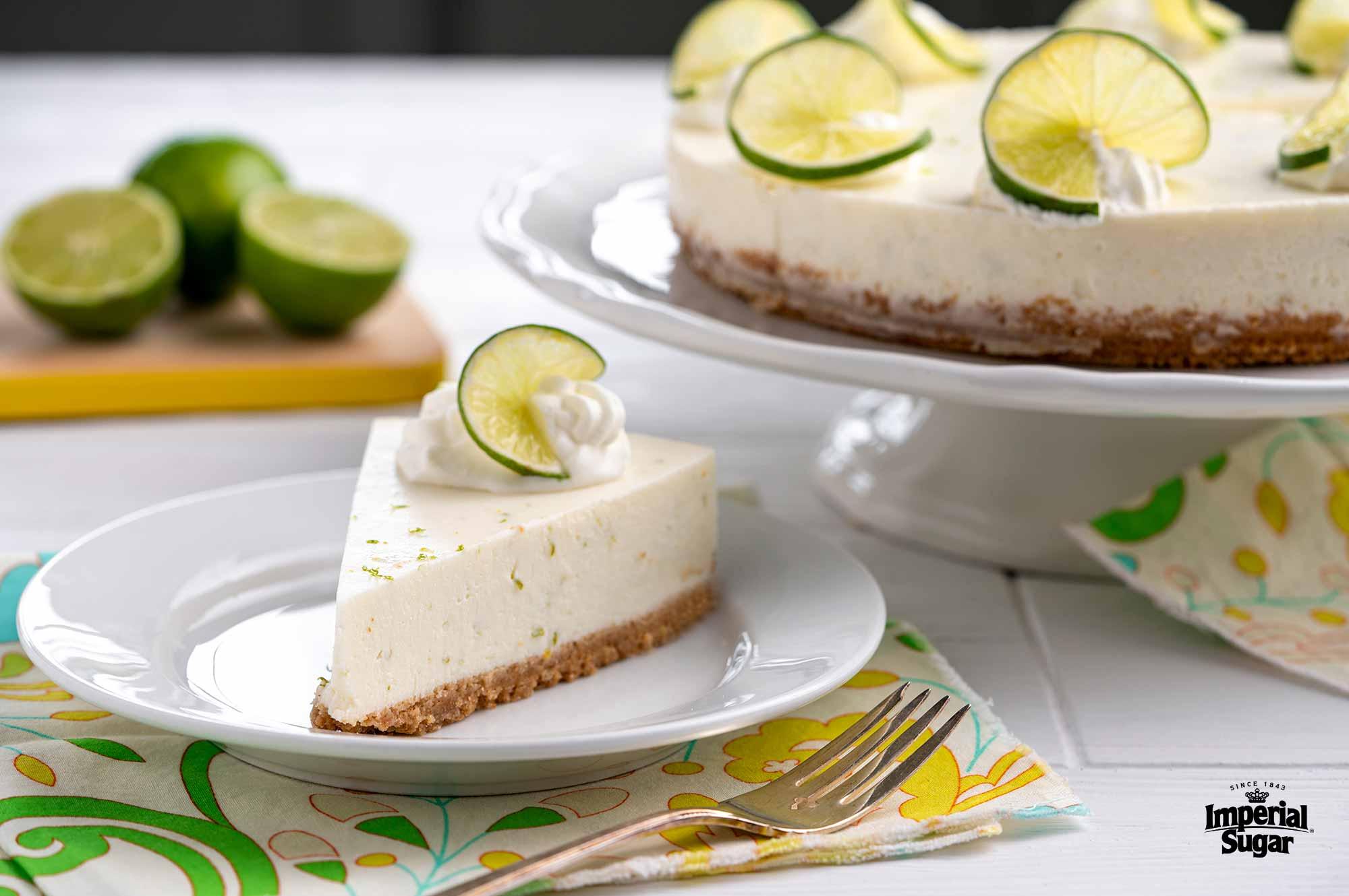 Key Lime No Bake Cheesecake Imperial Sugar