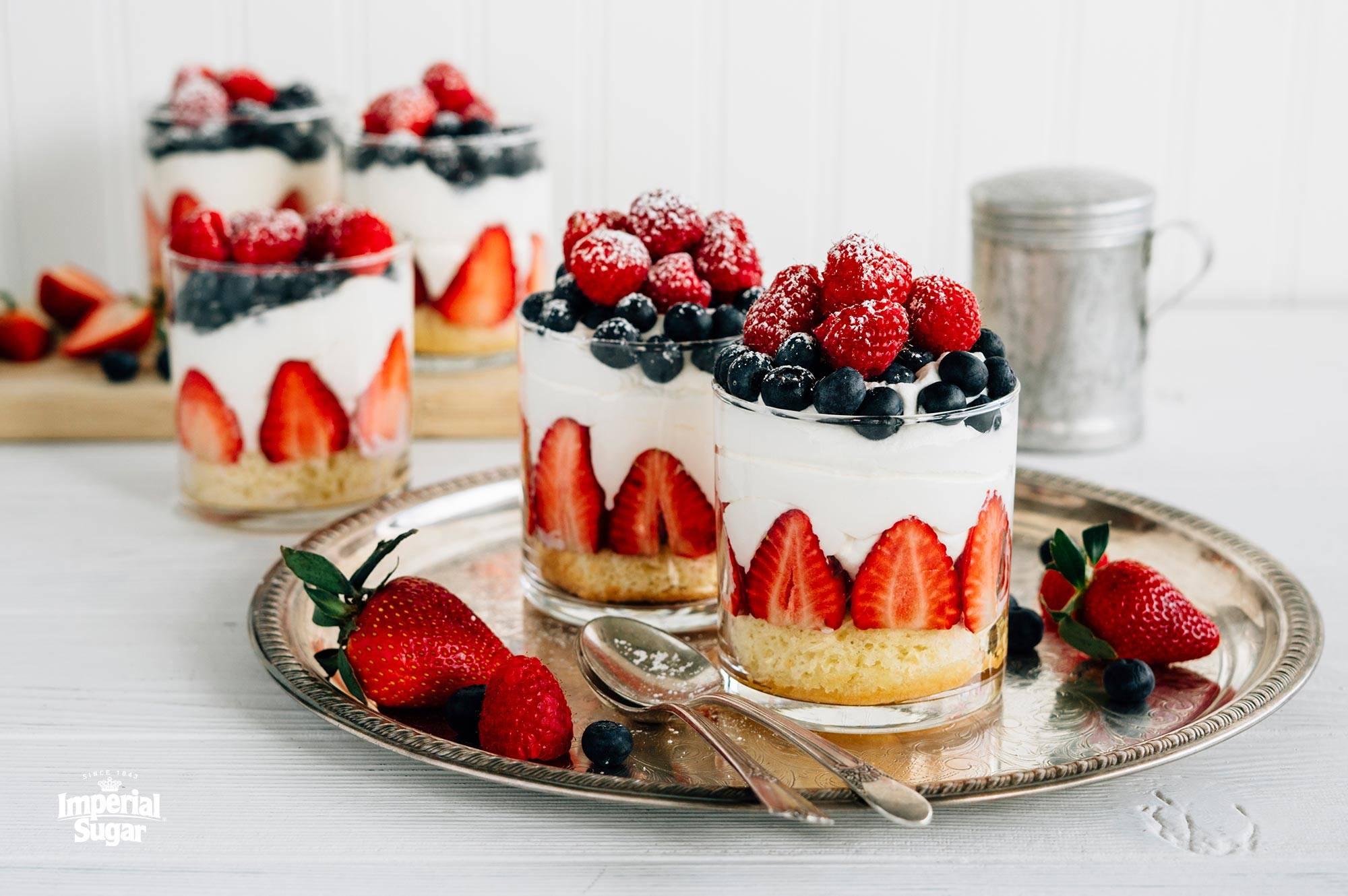 Mini Fraisier Cakes Imperial Sugar