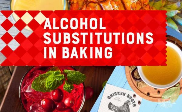 Alcohol Substitute Suggestions for Boozy Dessert Recipes