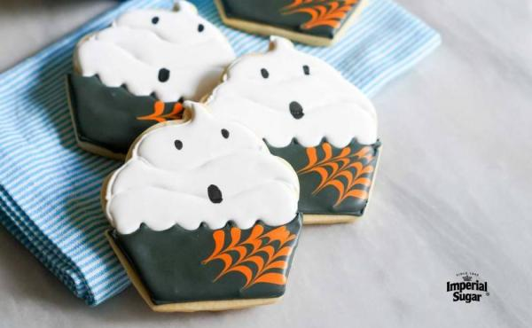 How to Make Halloween Ghost Cupcake Cookies