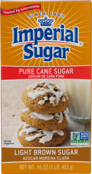 Imperial Sugar Light Brown Sugar 1-LB Box