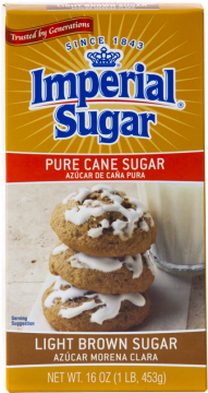Light Brown Sugar Box
