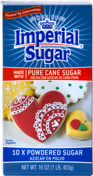 Confectioners Powdered Sugar Box