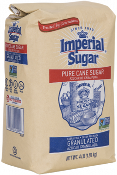 Imperial Sugar 4lb Extra Fine Granulated Pure Cane Sugar Bag