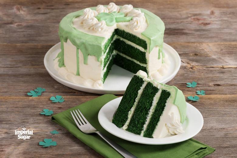 Green Velvet Cake Imperial Sugar