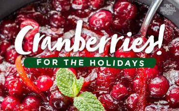Holiday Homemade Cranberry Recipes