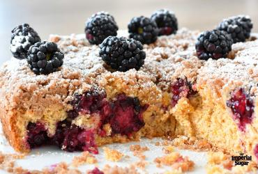 Blackberry Orange Coffee Cake