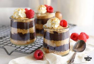 Chocolate Cream Pie Parfaits