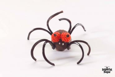 Chocolate Truffle Spiders