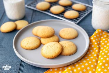 Copycat Vanilla Wafer Cookies