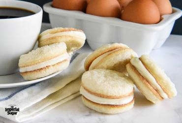 Cream Cheese Sugar Cookie Sandwiches