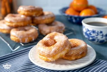 French Glazed Crullers