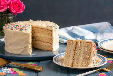 Frosted Classic White Cake Imperial