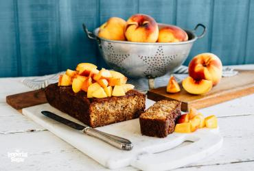 Honey Peach Cake