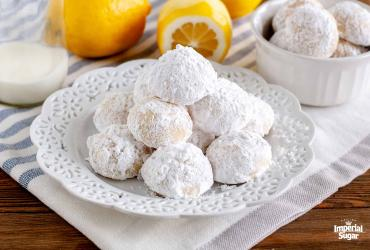 Lemon Butterball Cookies