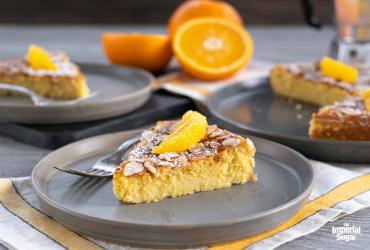 Orange Almond Ricotta Cake