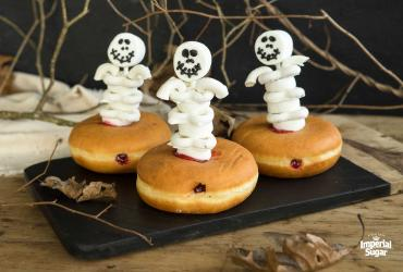 Skeleton Jelly Filled Donuts