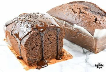 Triple Chocolate Pound Cake
