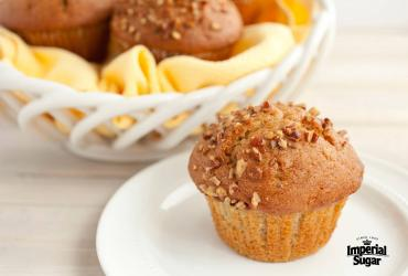 Twice as Nice Banana Nut Muffins