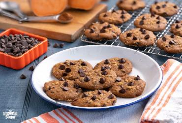 Chocolate Chip Sweet Potato Cookies