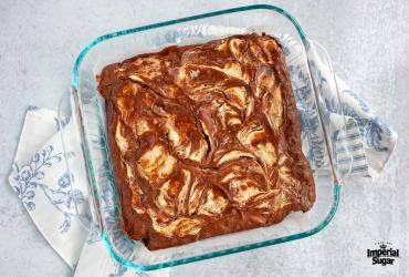 "Chocolate Coconut Brownies ""Swirlies"""