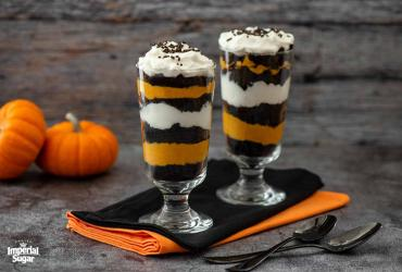 Chocolate Pumpkin Parfaits