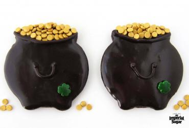 Chocolate Pot of Gold Cookies