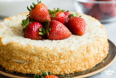 Steviacane Angel Food Cake