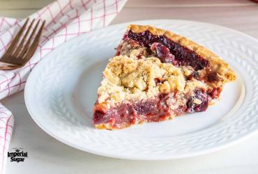 Steviacane Apple Cranberry Pie