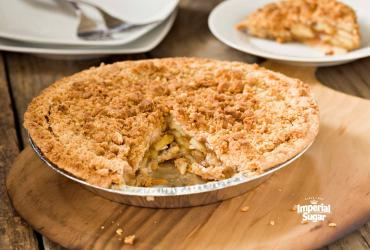 Steviacane Dutch Crumb Apple Pie