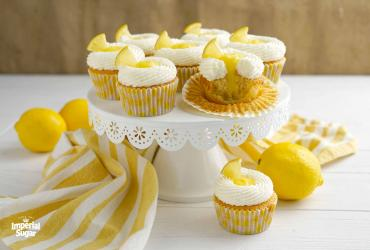 Triple Lemon Cupcakes