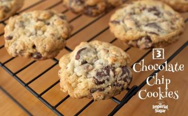 3 Chocolate Chip Cookies Recipe